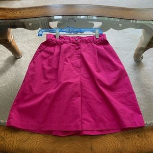 Nurse's uniform shorts.